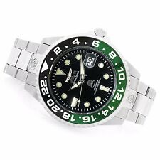 Invicta 47mm Grand Diver Automatic Black/Green Bezel Black Dial Bracelet Watch