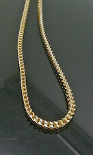 Men's 10K Yellow Gold 3mm, 30Inches Long, and 14gm Franco Chain