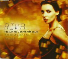 Maxi CD - Riva - Who Do You Love Now? (Stringer) - #A2697