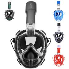 Khroom 2.0 Schnorchelmaske Druckausgleich Tauchbrille Vollmaske Tauchmaske Maske