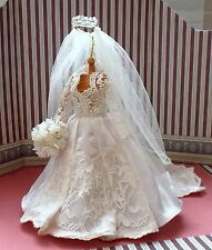 """SPIRIT OF KATHERINE"" - MINIATURE REPLICA WEDDING GOWN"