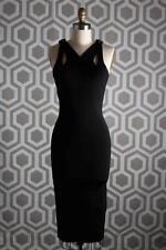 NWT Authentic Gucci Cutout Bamboo Dress Black Medium $1500