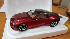 1:18 AUTOart 78848 Lexus LC500 Metallic Red Perfect Brand New