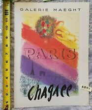 Marc Chagall GALERIE MAEGHT PARIS