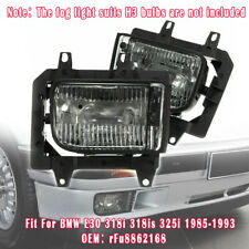 63171385945/63171385946 Front Fog Lights Accessories for BMW E30 318i 318is 325i