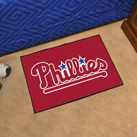 "MLB - Philadelphia Phillies Durable Starter Mat - 19"" X 30"""