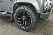 "Land Rover Defender Black Sawtooth Style 18"" Alloy Wheels - set of 4 - DA6548"