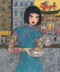Chinatown - Simone Legno / Tokidoki - Art Print With Sticker Sheet NYCC LE 100