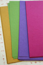 Recycled Tinted Manilla Card Stock solid colors rustic wedding craft postcards