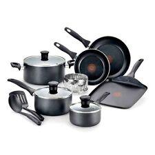 T-Fal Pure Cook Nonstick Aluminum Cookware Set 12 Piece