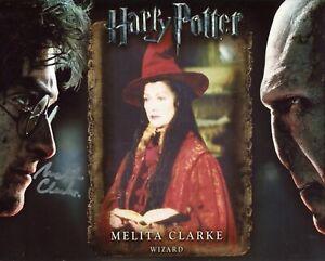 Harry Potter movie photo signed by actress Melita Clarke