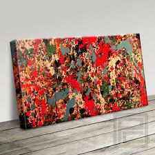 JACKSON POLLOCK STYLE ULTRA MODERN DECOR CANVAS ART PRINT PICTURE Art Williams