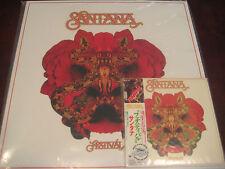 SANTANA FESTIVAL ORIGINAL 2006 COLLECTORS JAPAN OBI REPLICA CD + 180 GRAM VINYL