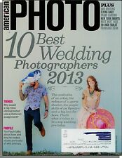 American Photo - 2013, March - 10 Best Wedding Photographers, The Smartphone