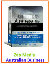 BAND OF BROTHERS - BLU RAY 6 DISC GIFT SET TIN BOX - BRAND NEW & SEALED
