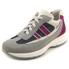 Scarpe sneakers in pelle grigia per bambine dai 2 ai 16 anni