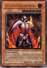 Thestalos the Firestorm Monarch - RDS-EN021 - Ultimate Rare - 1st Edition x1 Lig