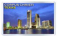 CORPUS CHRISTI TEXAS USA FRIDGE MAGNET SOUVENIR IMAN NEVERA