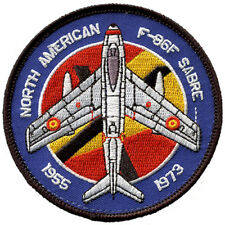 Parche F-86 Sabre Ejercito aire Spanish Air Force patch. Military Army. España.