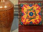16x16 Indian Decorative Handwoven Embroidered Suzani Home Decor Cushion Cover