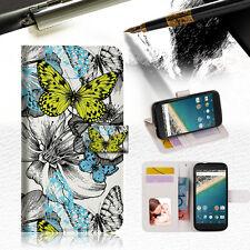 Butterfly Garden Wallet Case Cover For Alcatel Pop Star -- A018