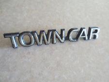 Original Ford Lincoln Town Car emblem / badge