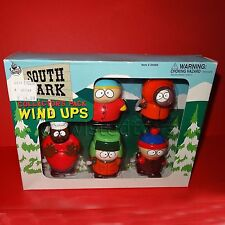 1998 SOUTH PARK COLLECTOR'S PACK WIND UPS BOXED (KYLE KENNY CARTMAN STAN CHEF)