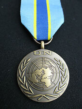 BRITISH ARMY,PARA,SAS,RAF,RM,SBS - UN Military Medal & Ribbon CONGO 2000 - New!