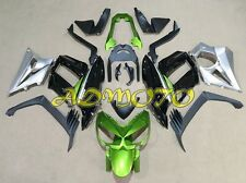 Fairing Pane Kit for Kawasaki Z1000SX 2010 2011 2012 2013 2014 2015 Green Sliver