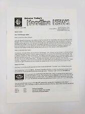 Babylon 5 Universe Today - Fan Club Newsletter - Issue 4 - June 98