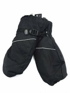 Champion men's black waterproof wind proof ski mitten SZ M/L NEW MSRP $24.99!