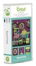 NEW! Cricut Robot Party cartridge!  Includes 3-D images!!  Rare! Free shipping!