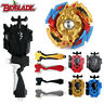 Beyblade Burst B-96 Gold STRIKE GOD VALKYRIE.MUGE Battle Top with Launcher Grip