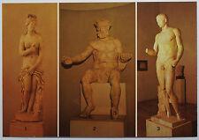 Schöne alte Ansichtskarte AK - Chieti - Museo Nazionale Statua Iconica da Foruli