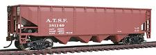 WalthersTrainline # 1651 Offset Quad Hopper - Atchison, Topeka & Santa Fe Ho Mib