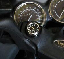 New British Made VerSa Darkside Stick-on Clock, Harley, Bike, Boat, Motorcycle