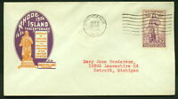 May 4 1936 US FDC SC 777 - Rhode Island - Roger Williams - Ioor Cachet*