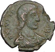 Julian II as Caesar with globe & spear 355AD Ancient Roman Coin i39072