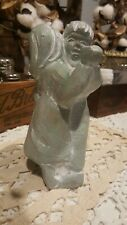 Isabel Bloom Art Sculpture Boy and Girl Dancing Signed 2002 Wonderful Condition!