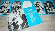 LA MANDRAGORE   ! alberto lattuada scenario dossier presse cinema  1965