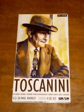 Toscanini 4xCD + Booklet