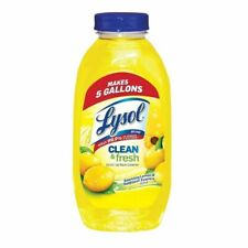 Clean and Fresh Multi Surface Cleaner Makes 5 Gallons 10.75 oz Lemon & Sunflower