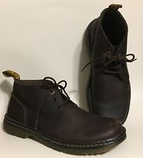 Men's Dr. Martens DMs Airware Sussex Brown Leather Ankle Chukka Boots 43 US 10 M