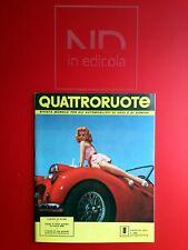 ORIGINALE QUATTRORUOTE 19 AGOSTO 1957 - ALFA ROMEO GIULIETTA SPIDER