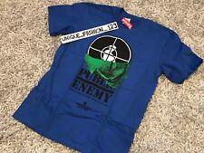Supreme X Undercover Public Enemy Terrordome Skull Tee M Royal Blue Ss18 Medium