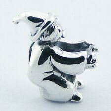Silver bead  Little Witch 15mm height 925 sterling silver for charm bracelet
