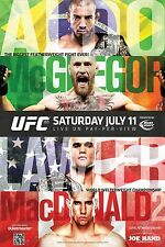 UFC 189 Fight Poster (24x36) - Conor McGregor vs Jose Aldo, Lawler vs MacDonald