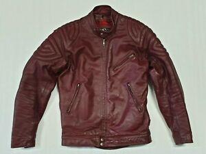 Vintage Mars Melbourne Leather Jacket Size 36