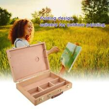 Artist Easel Wooden Box Art Drawing Painting Wood Table Easel Sketching Box