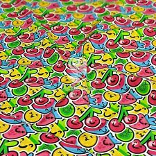 Fruity Bash FUN Children 100% Cotton Fabric Extra wide 142cm - Clothing Quiting